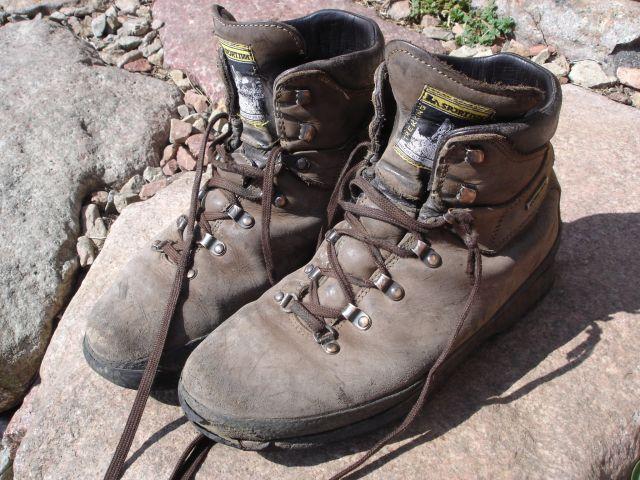 Mes chaussures de Rando sur le GR20 !