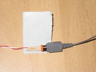 Wii sensor bar hack