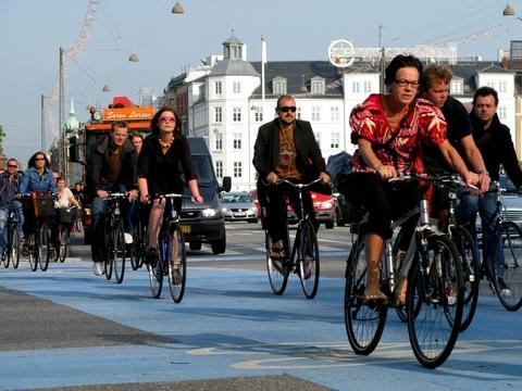 Copenhaguen rush hour