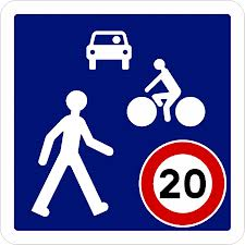 Zone de Rencontre 20 km/h