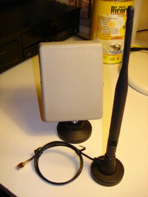 Antennes Omni et Patch commerciales