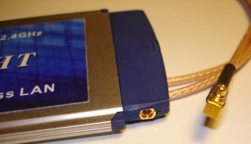 Connecteur PCMCIA